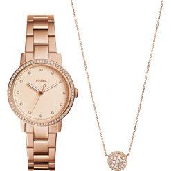 Zegarek FOSSIL - Neely ES4330SET Rose Gold/Rose Gold. Różowe zegarki damskie marki Fossil, szklane. W wyprzedaży za 549,00 zł.
