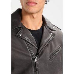 Lee CONIFER PERFECTO ORNAMENTAL Kurtka skórzana black. Czarne kurtki męskie skórzane marki Reserved, l. W wyprzedaży za 839,60 zł.