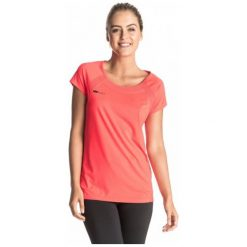 Roxy Koszulka Sportowa Risingrun Tee J Granatina S. Białe bluzki sportowe damskie marki Roxy, l, z nadrukiem, z materiału. W wyprzedaży za 99,00 zł.