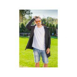 BLUZA ME-IN-HOOD black. Czarne bluzy męskie rozpinane Taff.one, l, z jeansu. Za 309,00 zł.