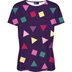 Colour Pleasure Koszulka damska CP-030 115 fioletowa r. XXXL/XXXXL. Fioletowe bluzki damskie marki Colour pleasure. Za 70,35 zł.