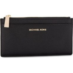 Duży Portfel Damski MICHAEL MICHAEL KORS - Money Pieces 32S8GF6D7L BLACK. Żółte portfele damskie marki MICHAEL Michael Kors, ze skóry. Za 369,00 zł.