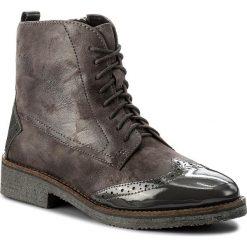 Botki CAPRICE - 9-25203-29 Anthraci.Comb 235. Szare buty zimowe damskie marki Caprice, ze skóry, na obcasie. W wyprzedaży za 219,00 zł.