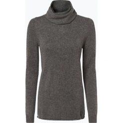 Marie Lund - Damski sweter z wełny merino, szary. Szare golfy damskie Marie Lund, s, z dzianiny. Za 229,95 zł.
