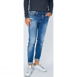 Tommy Jeans - Jeansy. Niebieskie rurki męskie Tommy Jeans, z bawełny. Za 499,90 zł.