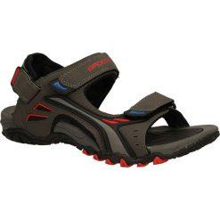 SANDAŁY 7SD9061. Czarne sandały męskie marki Casu. Za 58,99 zł.