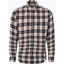 Selected - Koszula męska – Jason, beżowy. Brązowe koszule męskie na spinki marki FORCLAZ, m, z materiału, z długim rękawem. Za 179,95 zł.
