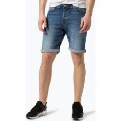 Only&Sons - Męskie spodenki jeansowe, niebieski. Niebieskie bermudy męskie Only&Sons, z jeansu, eleganckie. Za 149,95 zł.