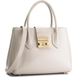 Torebka FURLA - Metropolis 978679 B BMN3 ARE Perla e. Brązowe torebki klasyczne damskie marki Furla, ze skóry, duże. Za 1470,00 zł.