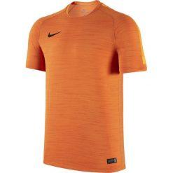 Nike Koszulka męska Flash Cool SS Top EL pomarańczowa r. S (688373 803). Brązowe t-shirty męskie marki Nike, m. Za 199,00 zł.