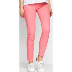Spodnie damskie: Różowe Spodnie Summer Paradise