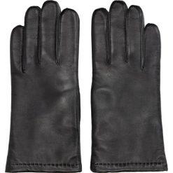Rękawiczki lebon czarny. Czarne rękawiczki męskie Recman. Za 239,00 zł.