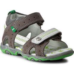 Sandały BARTEK - 11824-419 Szary/Biały. Szare sandały męskie skórzane Bartek. W wyprzedaży za 169,00 zł.