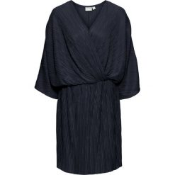 Sukienki balowe: Sukienka plisowana bonprix ciemnoniebieski