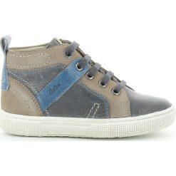 Wysokie buty sportowe Charly. Brązowe buty sportowe chłopięce marki ASTER, z materiału, na sznurówki. Za 293,96 zł.