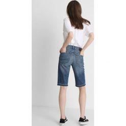 GStar 3301 HIGH STRAIGHT SHORT RP Szorty jeansowe medium aged painted. Niebieskie szorty jeansowe damskie G-Star. Za 419,00 zł.
