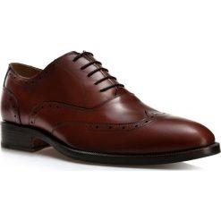 Buty męskie BM-B-581-5. Szare buty wizytowe męskie Wittchen, z materiału, na sznurówki. Za 899,00 zł.