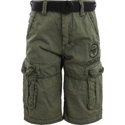 Cars Jeans KIDS MATHA FINE  Bojówki olive. Zielone jeansy męskie regular Cars Jeans, z bawełny. Za 149,00 zł.