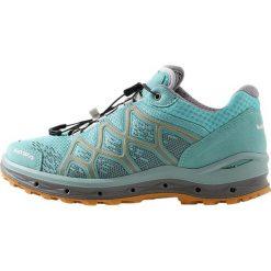 Lowa AEROX GTX Obuwie hikingowe eisblau/mandarine. Niebieskie buty sportowe damskie Lowa, z materiału, outdoorowe. Za 779,00 zł.