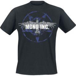 Mono Inc. Rabe T-Shirt czarny. Czarne t-shirty męskie z nadrukiem Mono Inc., s, z okrągłym kołnierzem. Za 74,90 zł.