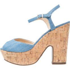 Rzymianki damskie: Schutz Sandały na obcasie summer jeans
