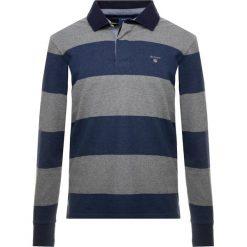GANT THE ORIGINAL BARSTRIPE HEAVY RUGGER Koszulka polo dark grey melange. Niebieskie koszulki polo marki GANT. Za 419,00 zł.