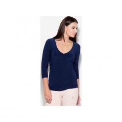 Bluzka K080 Granat. Niebieskie bluzki damskie KATRUS, l. Za 79,00 zł.