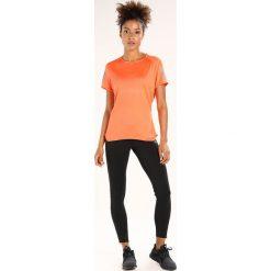 Adidas Performance RESPONSE TEE Tshirt z nadrukiem hireor. Brązowe topy sportowe damskie adidas Performance, xs, z nadrukiem, z materiału. Za 129,00 zł.