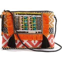 Kopertówki damskie: Torebka kopertówka w etnicznym stylu