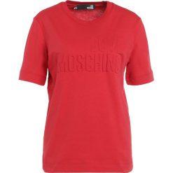 Odzież damska: Love Moschino Tshirt z nadrukiem red