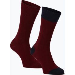 Finshley & Harding - Skarpety męskie pakowane po 2 szt., czerwony. Czerwone skarpetki męskie marki Finshley & Harding, z bawełny. Za 39,95 zł.
