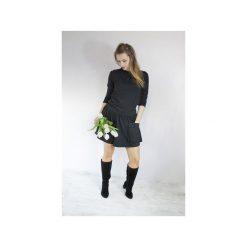 Sukienki: SUKIENKA GIZEM DRESOWA CZARNA