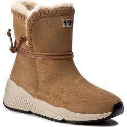 Botki NAPAPIJRI - Doris 15743220 Alpaca Beige N25. Brązowe buty zimowe damskie marki Napapijri, ze skóry. W wyprzedaży za 379,00 zł.