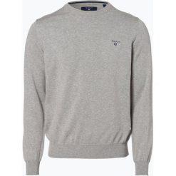 Swetry męskie: Gant – Sweter męski, szary