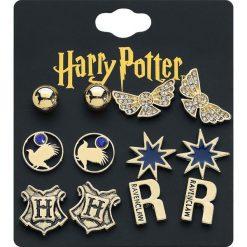 Harry Potter Ravenclaw Kolczyki - Earpin złoty. Żółte kolczyki damskie Harry Potter, złote. Za 79,90 zł.