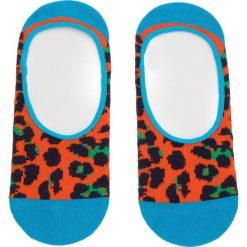 Skarpety Stopki Unisex HAPPY SOCKS - LEO06-2000 Kolorowy Pomarańczowy. Brązowe skarpetki damskie Happy Socks, w kolorowe wzory, z bawełny. Za 27,90 zł.