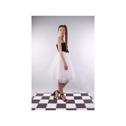 Spódnica tiulowa Pavlova biała. Białe spódniczki trapezowe Kozacki Mops, xs, z tiulu. Za 229,00 zł.