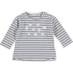 Bluzki dziewczęce: Koszulka w kolorze granatowo-białym