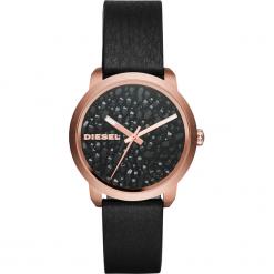 Zegarek DIESEL - Flare Series DZ5520 Black/Rose Gold. Czarne zegarki damskie Diesel. Za 799,00 zł.