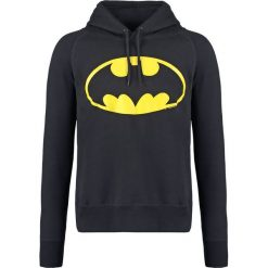 Bejsbolówki męskie: LOGOSHIRT BATMAN Bluza z kapturem black