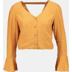 Bluzki asymetryczne: Miss Selfridge Petite SPOT Bluzka ochre