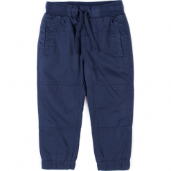 Spodnie. Niebieskie chinosy chłopięce HEY BOY, z bawełny. Za 59,90 zł.