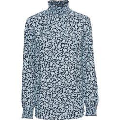 Bluzki, topy, tuniki: Tunika z nadrukiem, długi rękaw bonprix ciemnoniebieski z nadrukiem