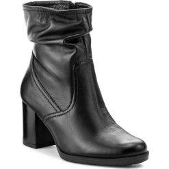 Botki LASOCKI - ALTA-01 Czarny. Czarne buty zimowe damskie Lasocki, ze skóry. Za 279,99 zł.