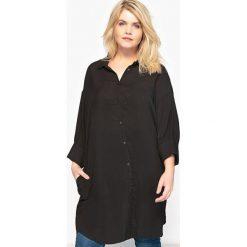 Tuniki damskie: Koszula-tunika lejąca się