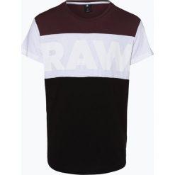 G-Star - T-shirt męski – Starkon, czerwony. Czerwone t-shirty męskie marki G-Star, l, z napisami. Za 129,95 zł.