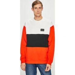 Calvin Klein Jeans - Bluza. Szare bejsbolówki męskie Calvin Klein Jeans, l, z bawełny, bez kaptura. Za 499,90 zł.