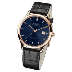 ZEGAREK EPOS Originale 3420.152.24.16.15. Niebieskie zegarki męskie EPOS, ze stali. Za 5450,00 zł.