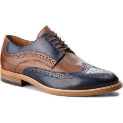 Półbuty GINO ROSSI - Henry MPA706-W70-4343-5733-0 59/88. Brązowe buty wizytowe męskie Gino Rossi, ze skóry. W wyprzedaży za 399,00 zł.