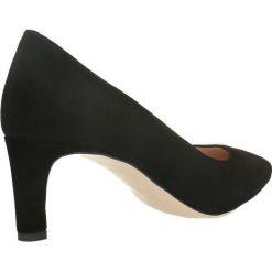 Czółenka RUMI. Czarne buty ślubne damskie Gino Rossi, ze skóry. Za 269,94 zł.